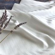 Страйп-сатин мерсеризованный белый 280 см